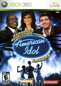 Karaoke Revolution Presents American Idol: Encore - 083717300656