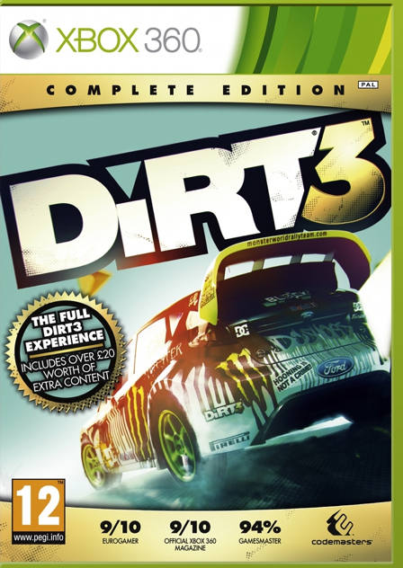 Dirt 3: Complete Edition - 767649403875