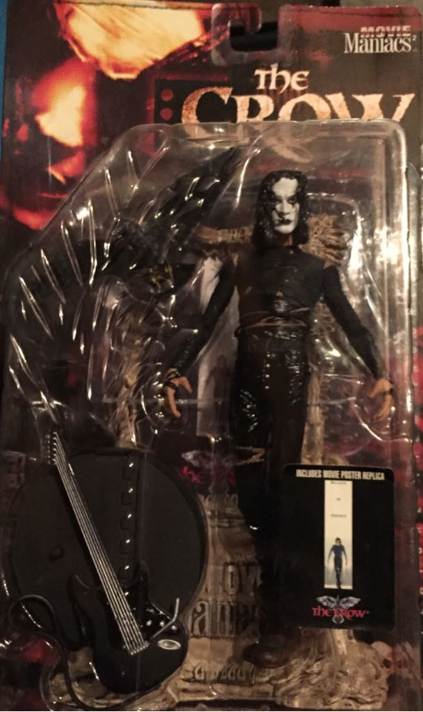 Movie Maniacs – The Crow Action Figure front image (front cover)