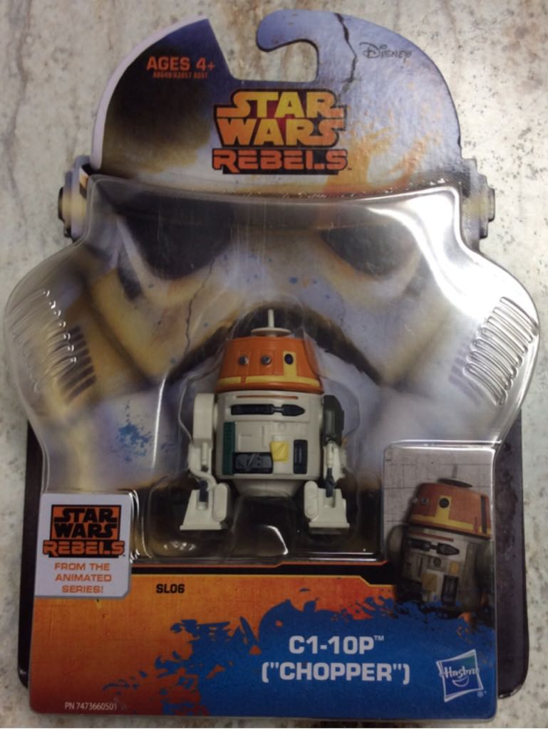 C1-10P (Chopper) Action Figure - Hasbro (2014) front image (front cover)