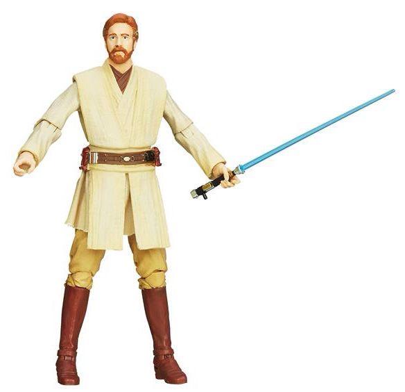 Obi Wan Kenobi Action Figure - Hasbro (2014) front image (front cover)