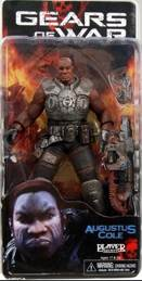 Gears Of War - Series 1 - Augustus Cole Action Figure - Neca front image (front cover)