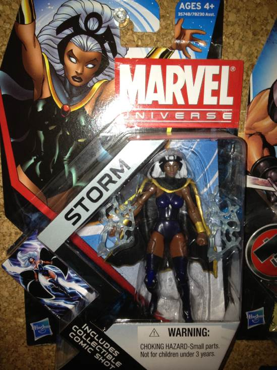 Storm Action Figure front image (front cover)