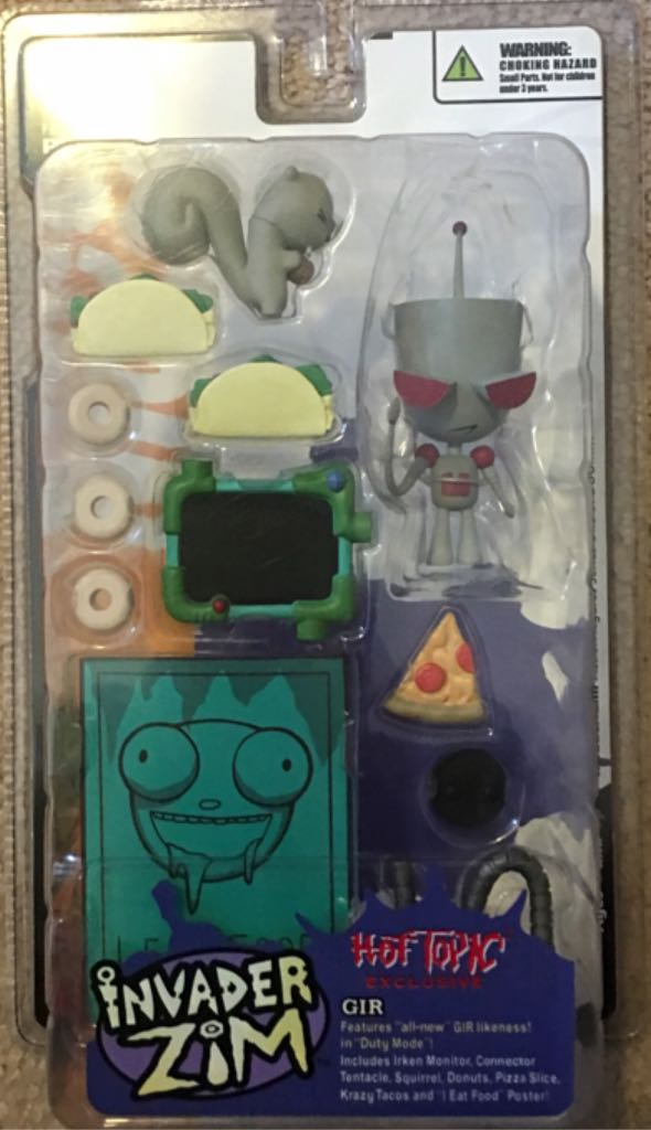 Invader Zim: GIR Action Figure front image (front cover)