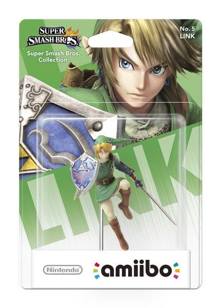 Amiibo Smash Link Action Figure front image (front cover)