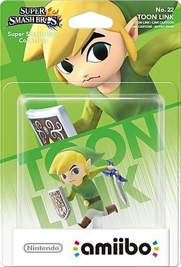 Amiibo Smash Toon Link Action Figure front image (front cover)