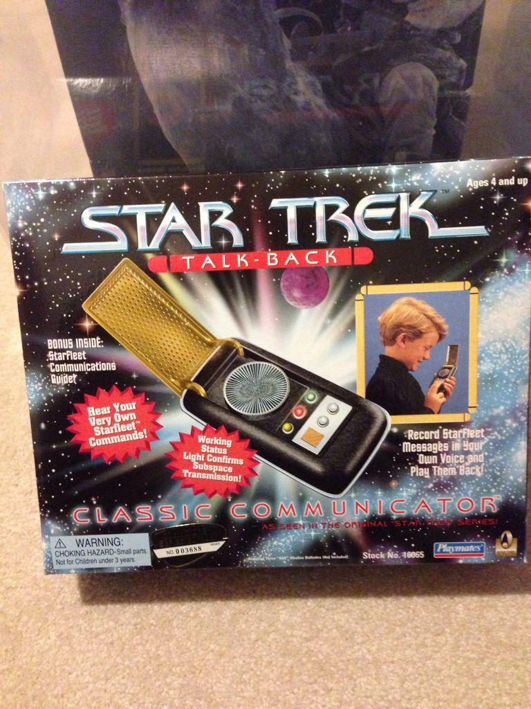 Star Trek Classic Communicator Action Figure - Playmates