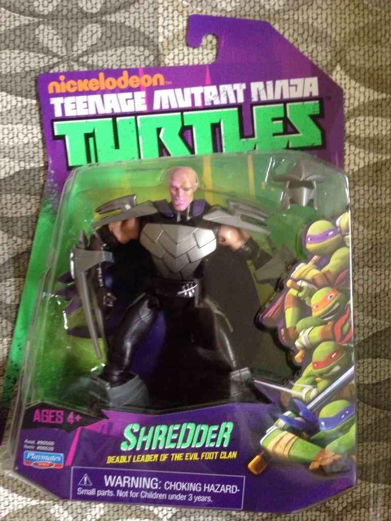 1989 Mouser Tmnt Teenage Mutant Ninja Turtles Playmates Shredder 2