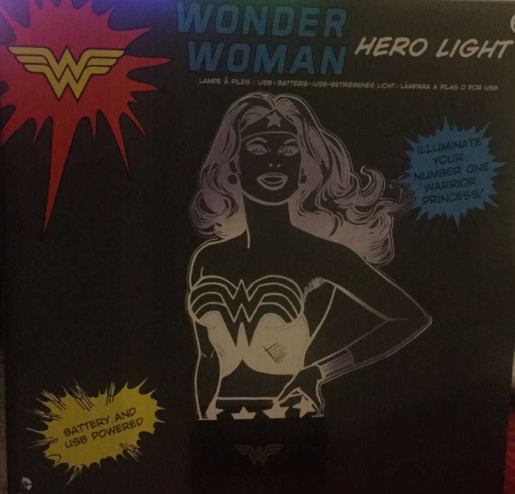 Wonder Woman Light Action Figure From Sort It Apps
