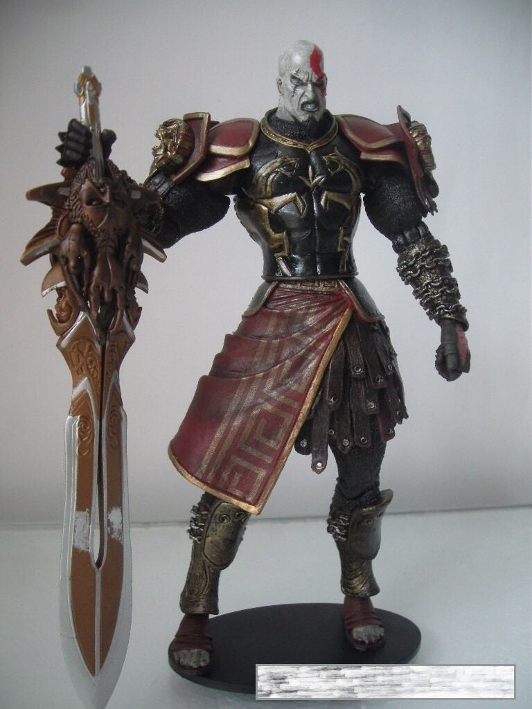God Of War Ii Kratos In Ares Armor Action Figure Open Mouth Variant