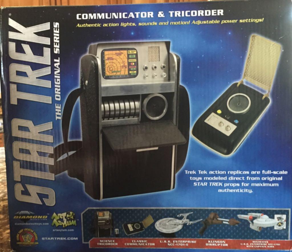 Star Trek The Original Series Communicator & Tricorder