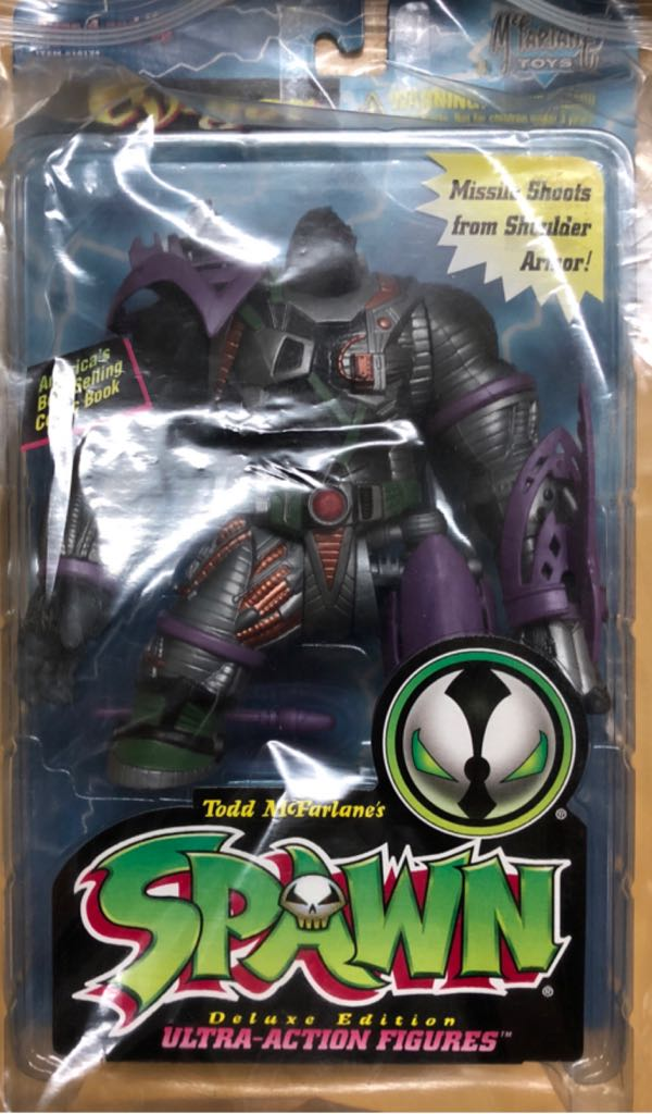 Spawn Deluxe Edition Cy Gor 787926101348 Action Figure Mcfarlane