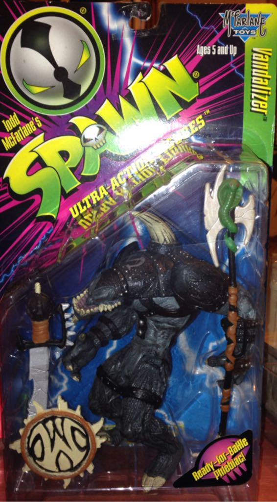 Spawn Vandalizer Action Figure Mcfarlane Toys From Sort It Apps