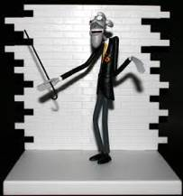 Pink Floyd The Wall Series 1 School Teacher Action Figure Front Image Cover