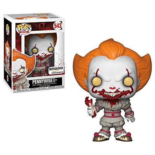 Pop! Movies It: Pennywise With Severed Arm Action Figure - Funko (2018) front image (front cover)