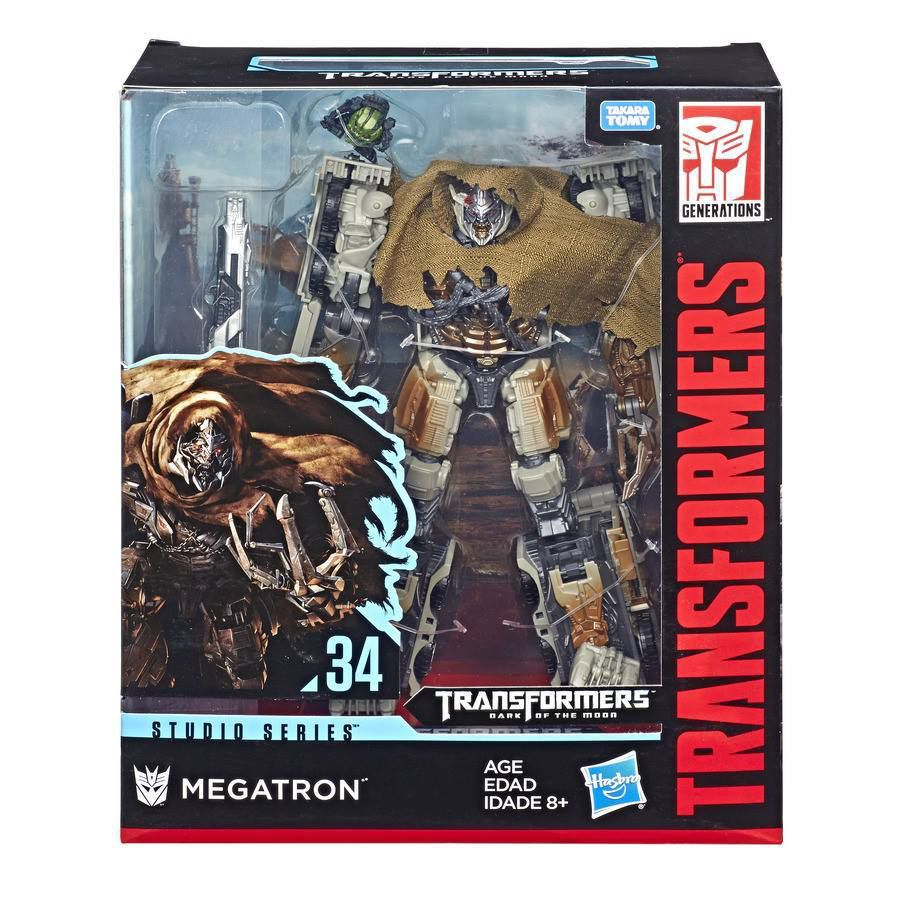 Megatron (SS- 34) Action Figure - Hasbro/Takara (2019) front image (front cover)