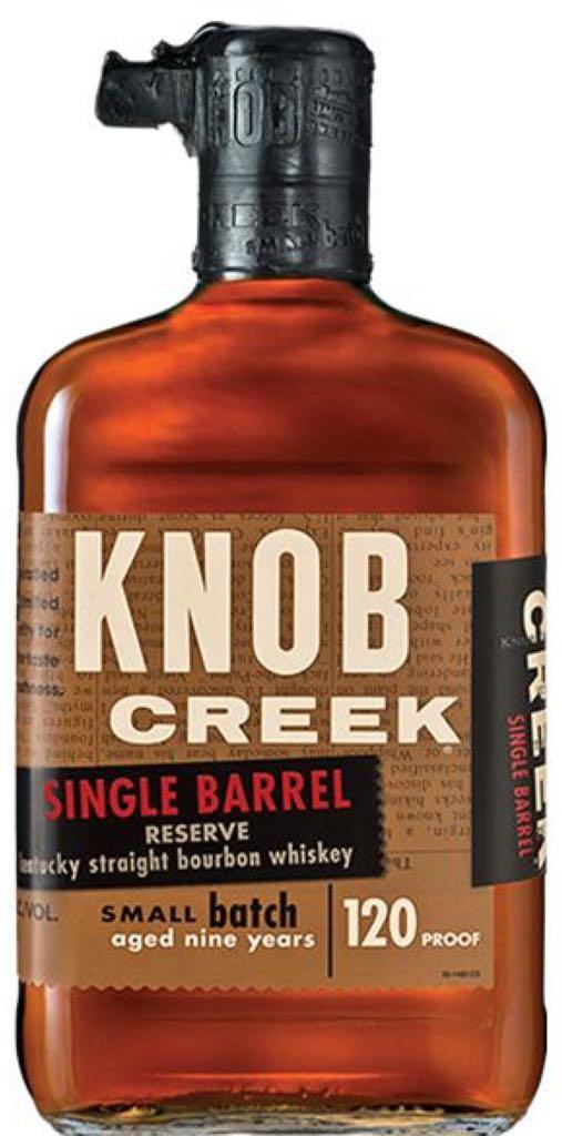 Knob Creek Single Barrel Alcohol - Knob Creek Distillery (Bourbon) front image (front cover)