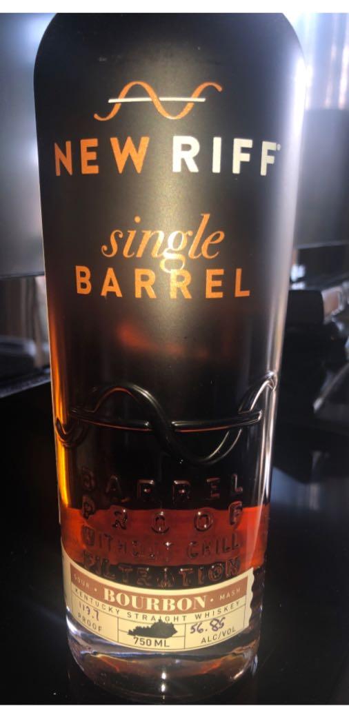 New Riff Single Barrel Sour Mash Bourbon Alcohol - New Riff Distilling (Bourbon) front image (front cover)