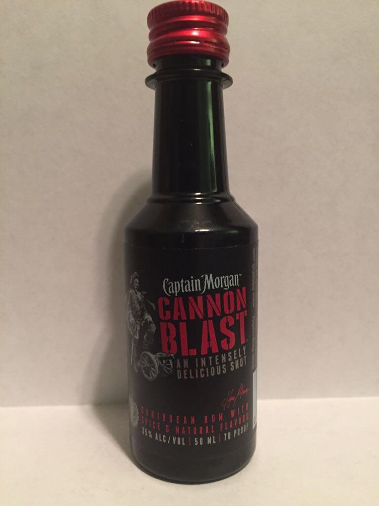 Captain Morgan Cannon Blast Alcohol - Captain Morgan Rum Co. (Rum) front image (front cover)