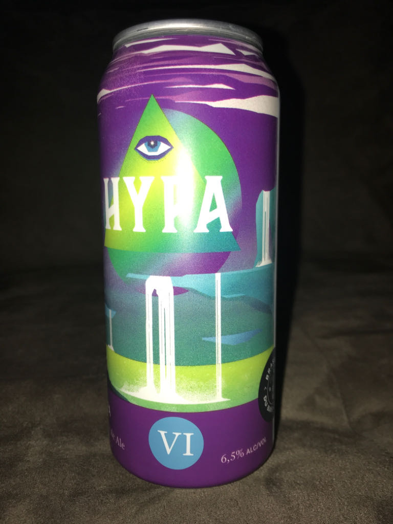 HYPA VI Alcohol - BBC (Beer) front image (front cover)