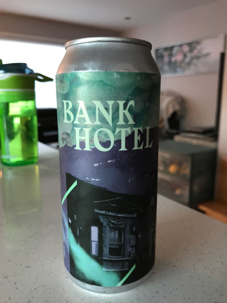 Bank Hotel Alcohol - BBC (Beer) front image (front cover)