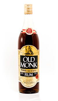 Old Monk Gold Reserve Alcohol - Mohan Meakin Limited (Rum) front image (front cover)