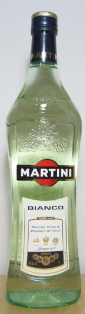 Martini Bianco Alcohol - Martini & Rossi S.P.A. (Vermouth) front image (front cover)