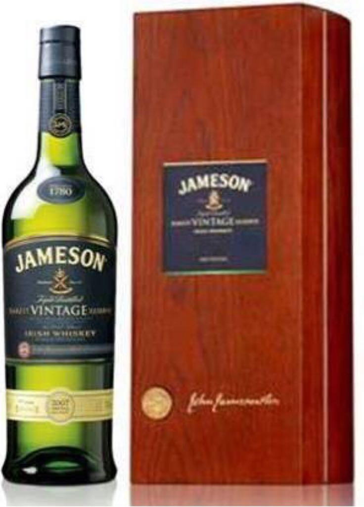 Jameson Rarest Vintage Reserve Alcohol - John Jameson & Son (Whiskey - Irish Triple Distilled) front image (front cover)