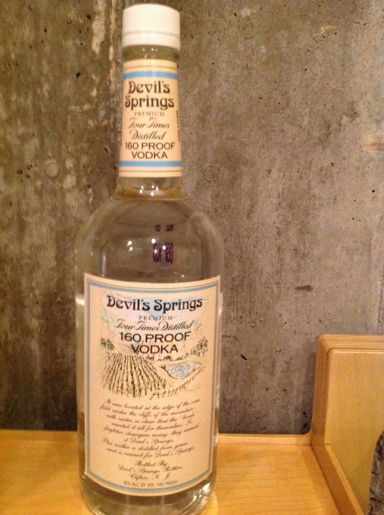 Devil Springs 160 Proof Alcohol - n/a - from Sort It Apps