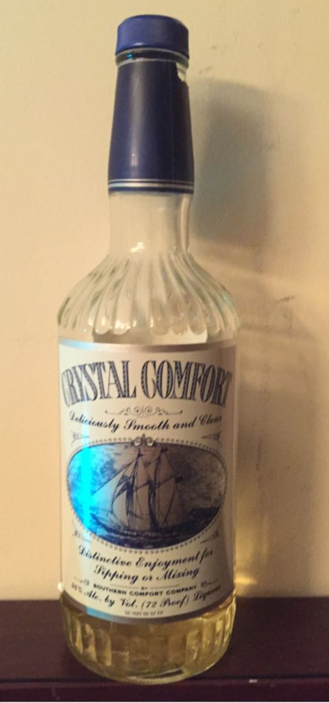 Crystal Comfort Alcohol - Southern Comfort Company (Whiskey