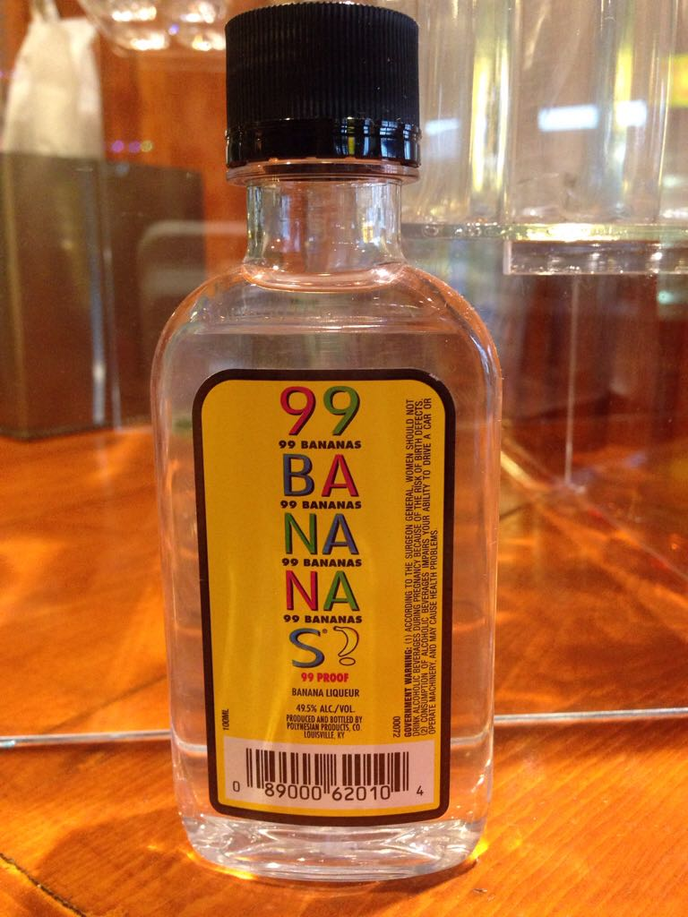 99 Bananas Alcohol