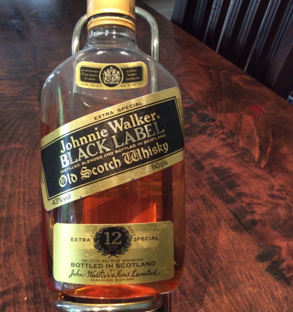 Johnnie Walker Black Label Alcohol John Walker And Sons Blended