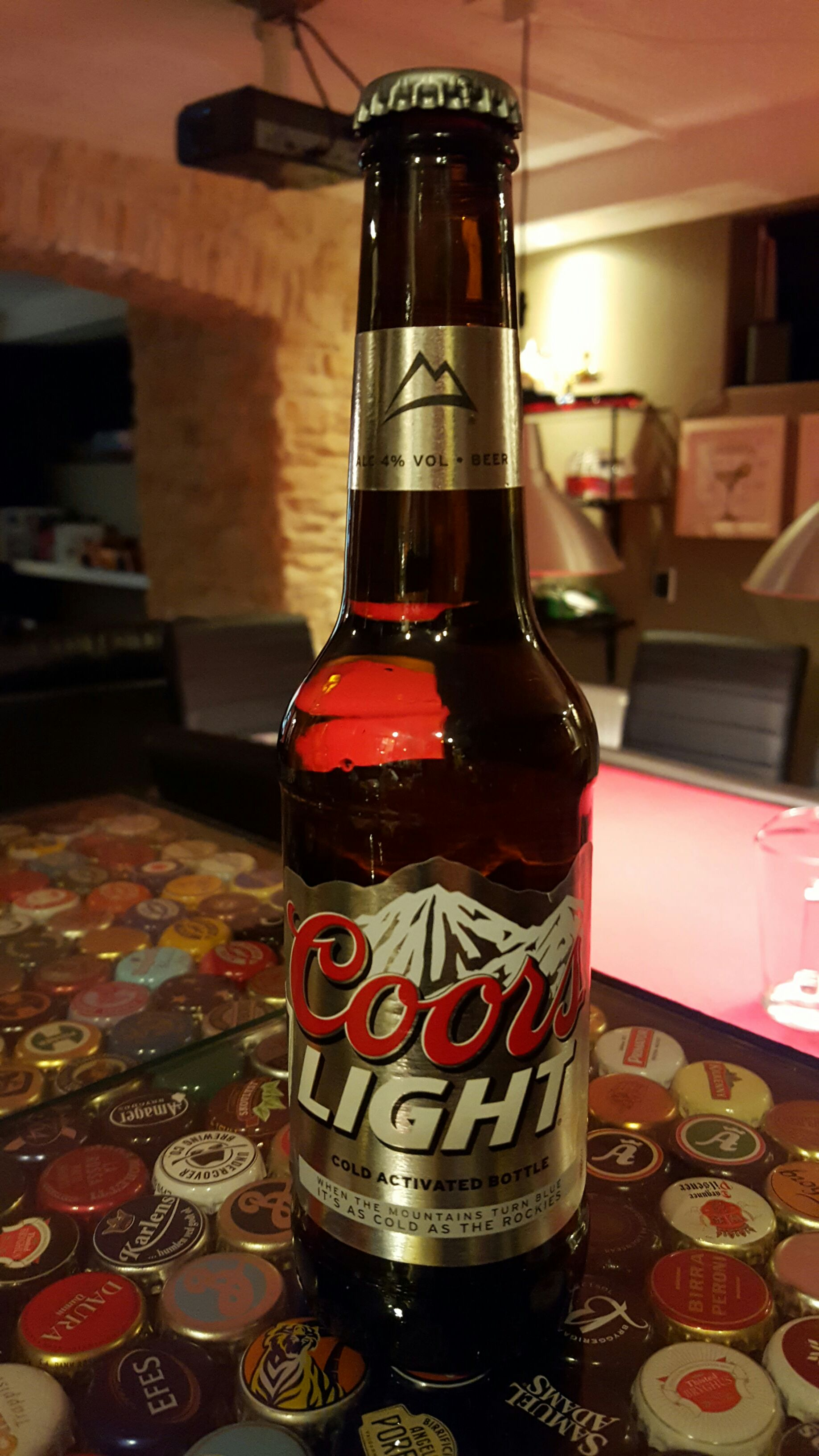Coors Light Alcohol   Molson Coors Brewing Company Front Image (front Cover)