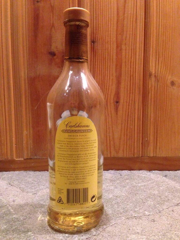 Carlshamns Flaggpunsch Schwedish Arrak Alcohol - V&S Vin