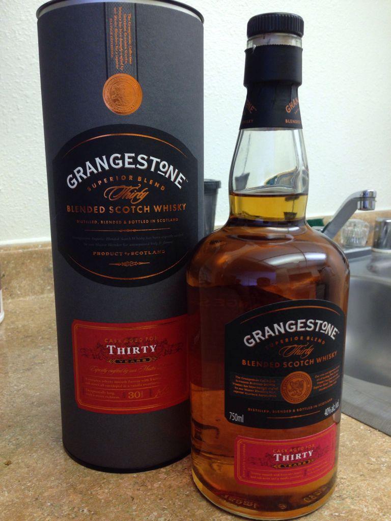 grangestone 30 year alcohol the grangestone blended scotch whisky