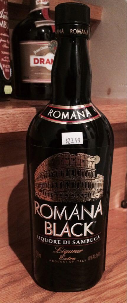 Romana Black Sambuca Alcohol - Romana (Sambuca) - from Sort It Apps