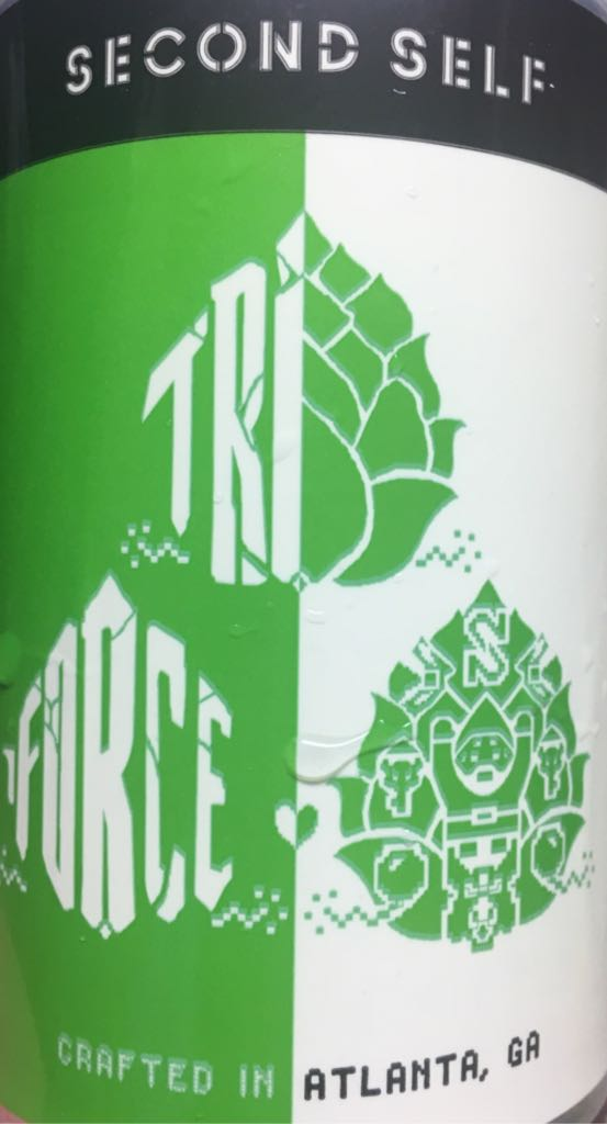 Triforce Alcohol - Second Self Beer Co (American IPA) front image (front cover)