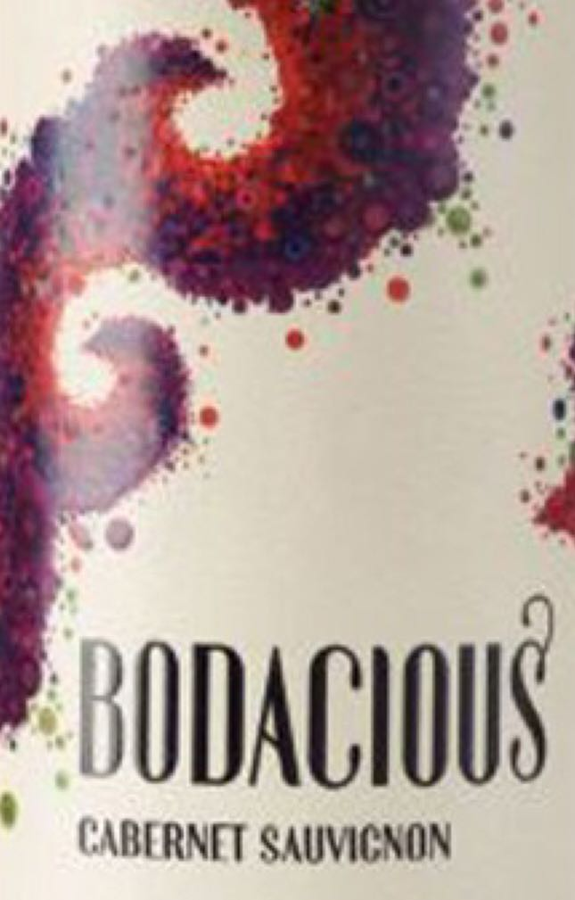 Bodacious Alcohol - Canadian (Cabernet Sauvignon) front image (front cover)