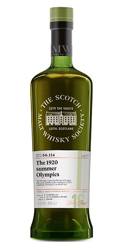 Ardmore - 16 - SMWS 66.114 The 1920 Summer Olympics Alcohol - Ardmore Distillery (Highland Single Malt Scotch Whisky) front image (front cover)