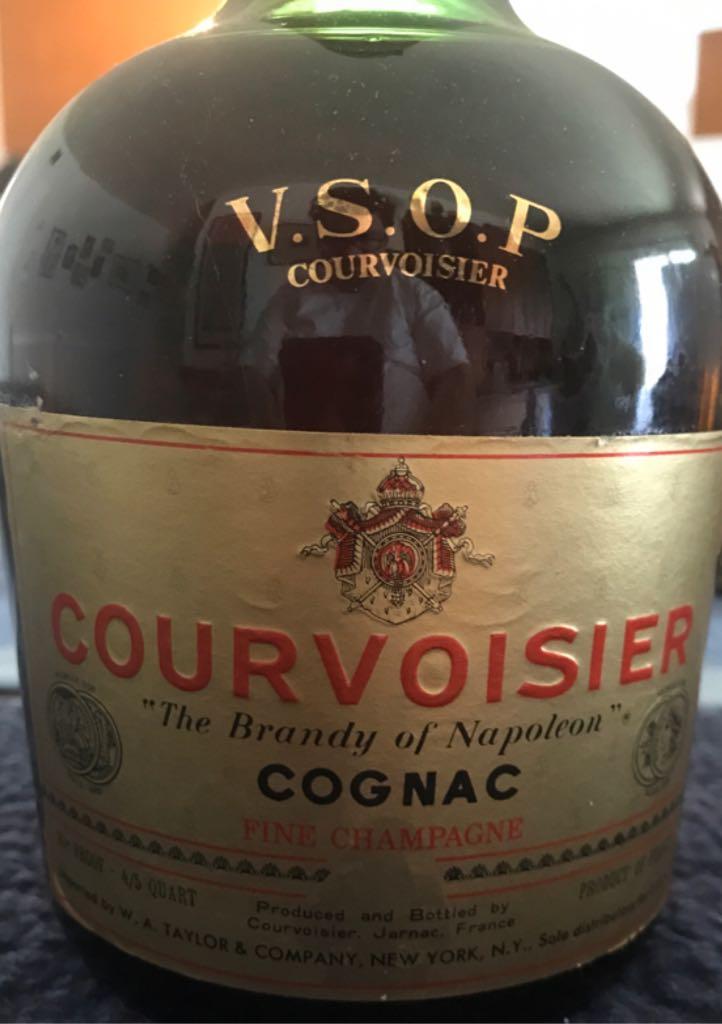 Vsop Courvoisier Alcohol - Courvoisier (Brandy - Cognac VSOP) front image (front cover)