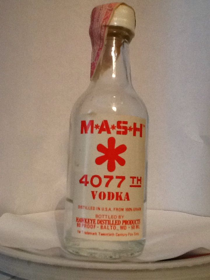 M*A*S*H Alcohol - Hawkeye Distilled Products (Vodka) front image (front cover)