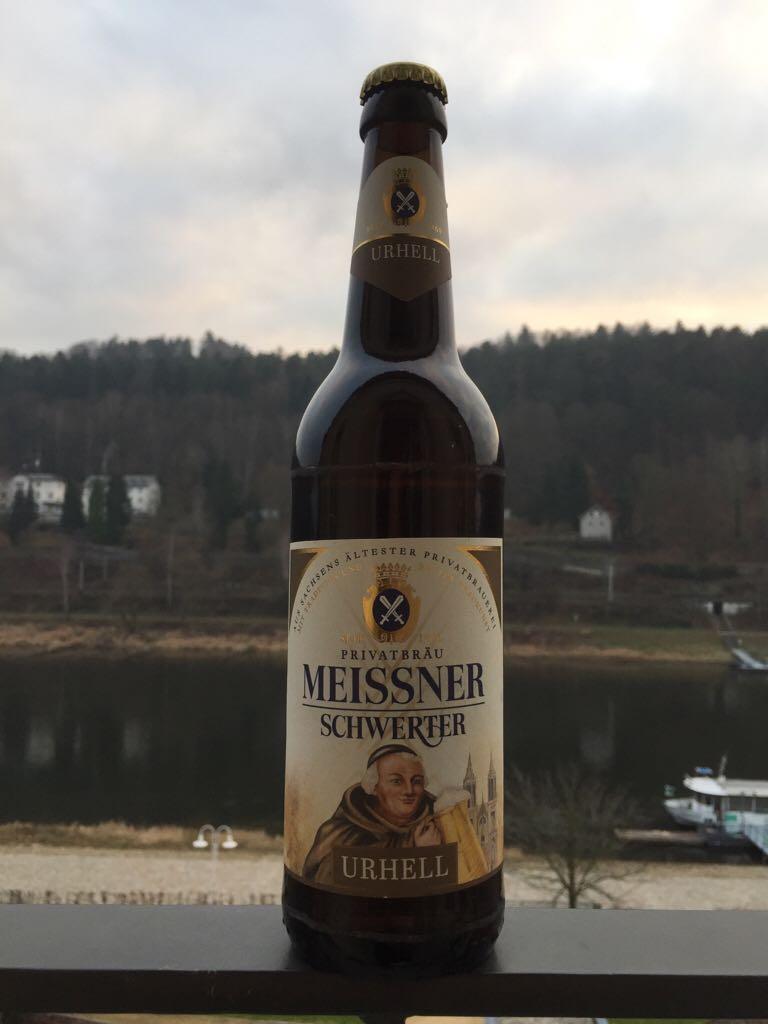 Meissner Schwerter - Urhell Alcohol - Privatbrauerei Schwerter Meissen (Helles Vollbier) front image (front cover)