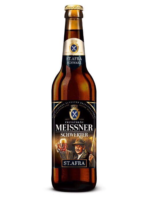 Meissner Schwerter - St. Afra Alcohol - Privatbrauerei Schwerter Meissen (Dunkles Vollbier) front image (front cover)