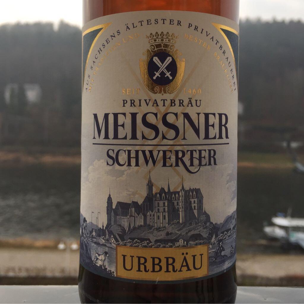 Meissner Schwerter - Urbräu Alcohol - Privatbrauerei Schwerter Meissen (Helles Vollbier) back image (back cover, second image)