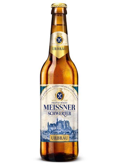Meissner Schwerter - Urbräu Alcohol - Privatbrauerei Schwerter Meissen (Helles Vollbier) front image (front cover)