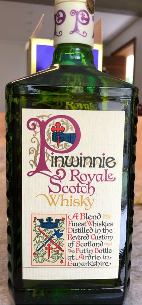 Pinwinnie Alcohol - Pinwinnie Distillers (Scotch Wisky) front image (front cover)