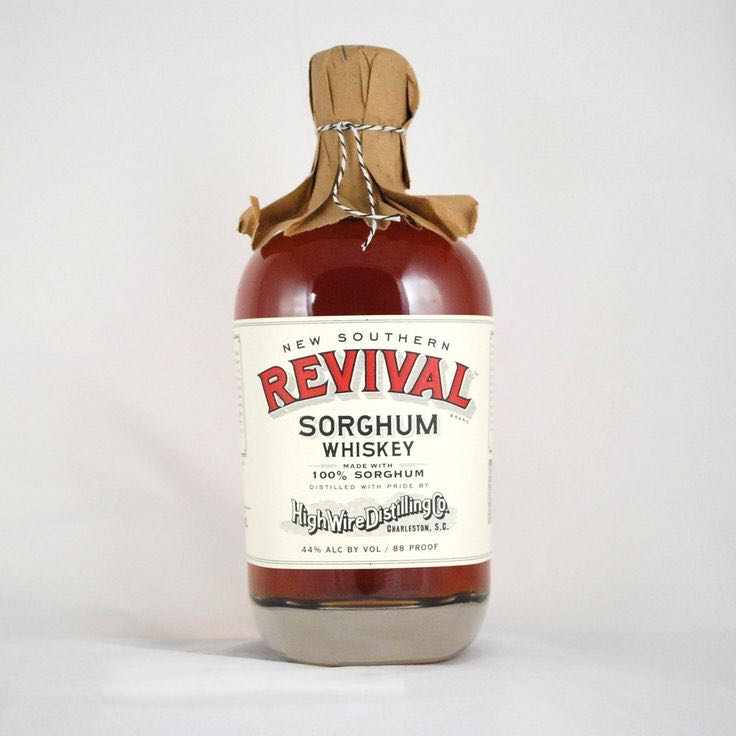 Revival Rye Whiskey Alcohol - High Wire Distilling Co front image (front cover)