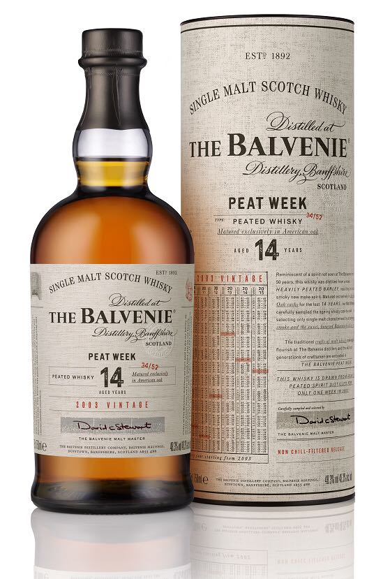 Balvenie Peat Week Alcohol - The Balvenie Distillery front image (front cover)