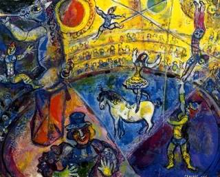 Circus Horse Art - Marc Chagall (1964) front image (front cover)