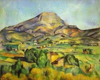 The Mount Sainte-Victoire Art - Paul Cézanne front image (front cover)
